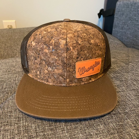 Wrangler Cork Mesh Cap